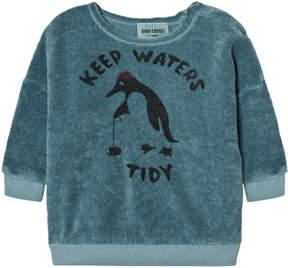 Bobo Choses Blue Keep Waters Tidy Sweatshirt