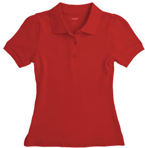 JCPenney French Toast Piqu Polo - Preschool Girls 4-6x