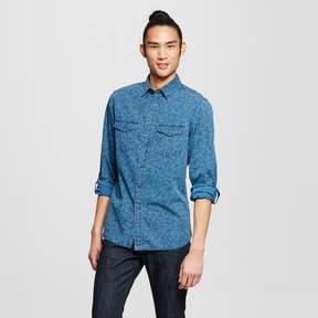 Mossimo Men's Long Sleeve Shirt Indigo