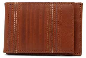 Tommy Bahama Embossed Leather Magnetic Wallet