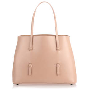 Alaia Nude leather tote