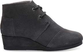 Toms Desert Wedge Bootie (Girls')