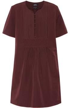 A.P.C. Christie linen and cotton dress
