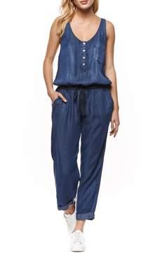 Dex Tencel Blue Jumpsuit