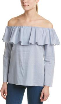DREW Erin Off-The-Shoulder Blouse