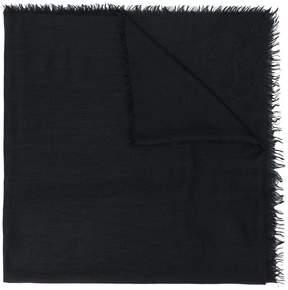 Salvatore Ferragamo frayed scarf