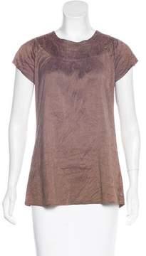 Calypso Silk Short Sleeve Top