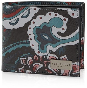 Ted Baker Perito Printed Leather Coin Wallet