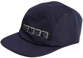 Kenzo Logo Embroidered Cotton Gabardine Hat