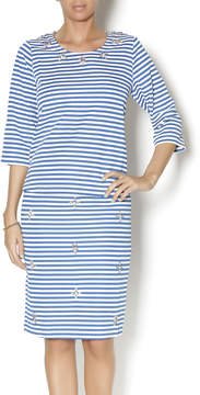 Blu Pepper Regatta Striped Top