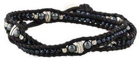 Chan Luu Hematite Double Wrap Bracelet