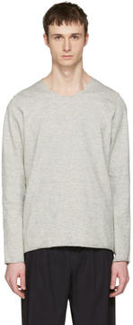 Attachment Grey Raw Finish Pullover
