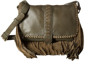 Scully Mandy Soft Fringe Leather Handbag Handbags