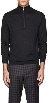 Paul Smith Men's Wool Half-Zip Sweater