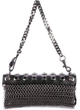 Versus Leather & Suede Shoulder Bag