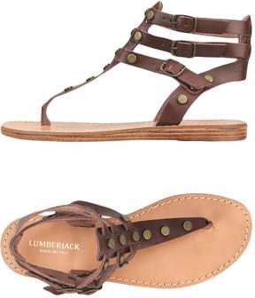 Lumberjack Toe strap sandals