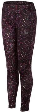 New Balance Girls 7-16 Splatter Printed Leggings