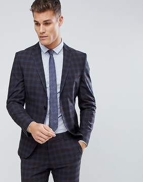 Selected Slim Suit Jacket In Check
