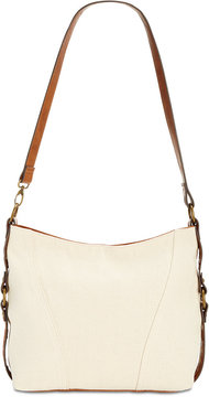 Style & Co Slouchy Canvas Hobo, Created for Macy's