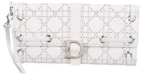 Christian Dior Cannage Leather Wristlet