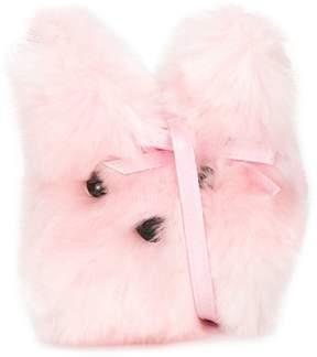 Simonetta faux-fur shoulder bag