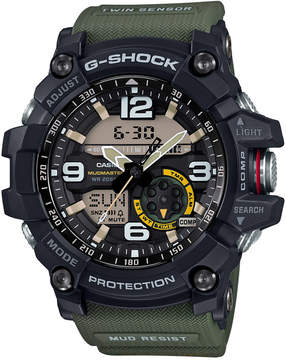 G-Shock Men's Analog-Digital Mudmaster Army Green Resin Strap 56x55mm GG1000-1A3