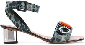 Robert Clergerie embellished sandals