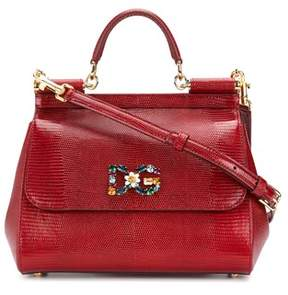 Dolce & Gabbana Dolce E Gabbana Women's Red Leather Handbag. - RED - STYLE