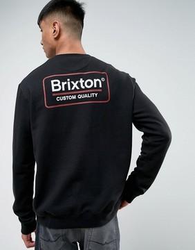 Brixton Sweatshirt With Back Box Logo