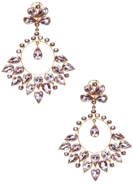 Amrita Singh Women's 14k Gold and Amethyst Aamira Earrings