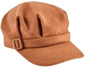 San Diego Hat Company Women's Newsboy Cap With Buckle Cth8065.