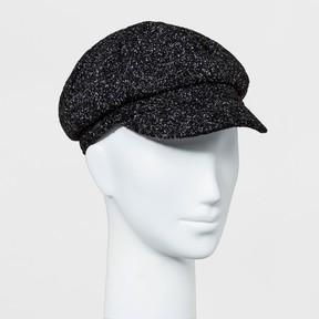 Mossimo Women's Newsboy Hat Black