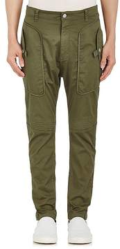 Helmut Lang Men's Cotton Twill Slim Trousers
