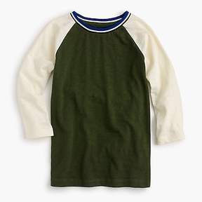 J.Crew Boys' baseball T-shirt