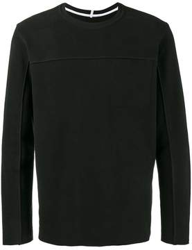 Lot 78 Lot78 The Structured Crew Neck Jumper