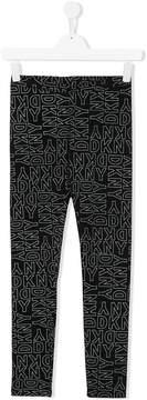 DKNY TEEN logo leggings