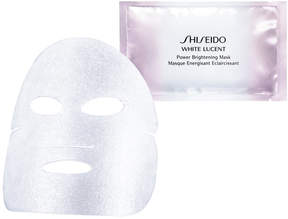 Shiseido White Lucent Power Brightening Mask, 6 count
