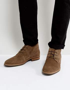 Tommy Hilfiger Daytona Suede Boots in Brown