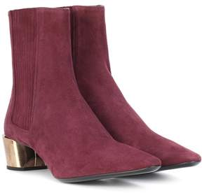 Jil Sander Suede ankle boots