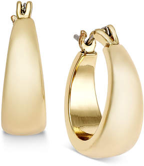 Charter Club Gold-Tone Huggie Hoop Earrings