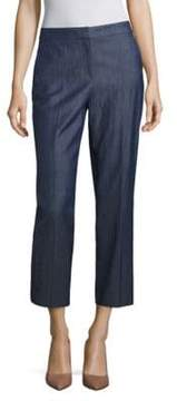 BOSS Allery Cropped Straight-Leg Pants