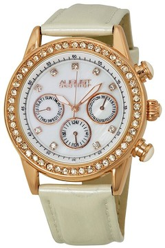 August Steiner Rose Gold-tone Ladies Watch