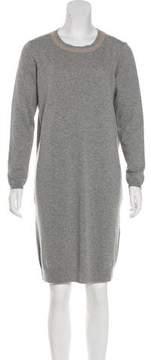 Peserico Long Sleeve Sweater Dress
