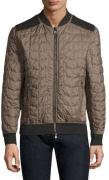Salvatore Ferragamo Long Sleeve Puffer Quilted Jacket