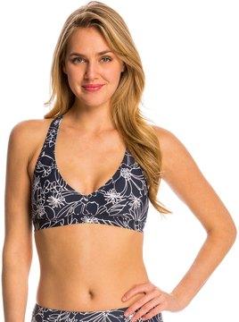 Anne Cole Women's Spinning Floral Sports Bra Bikini Top 8137391