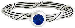 Peter Thomas Roth Signature Romance Silver 0.15 Ct. Blue Sapphire Ring