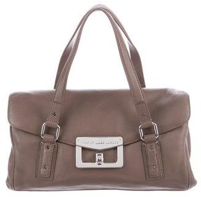 Marc by Marc Jacobs Pebbled Leather Satchel - BROWN - STYLE