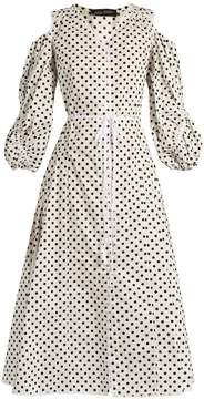 DAY Birger et Mikkelsen ANNA OCTOBER Polka-dot cotton-poplin dress