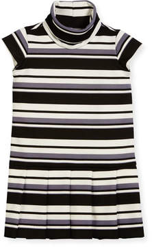 Helena Striped Knit Dress, Size 7-14