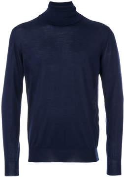 Eleventy roll neck sweatshirt